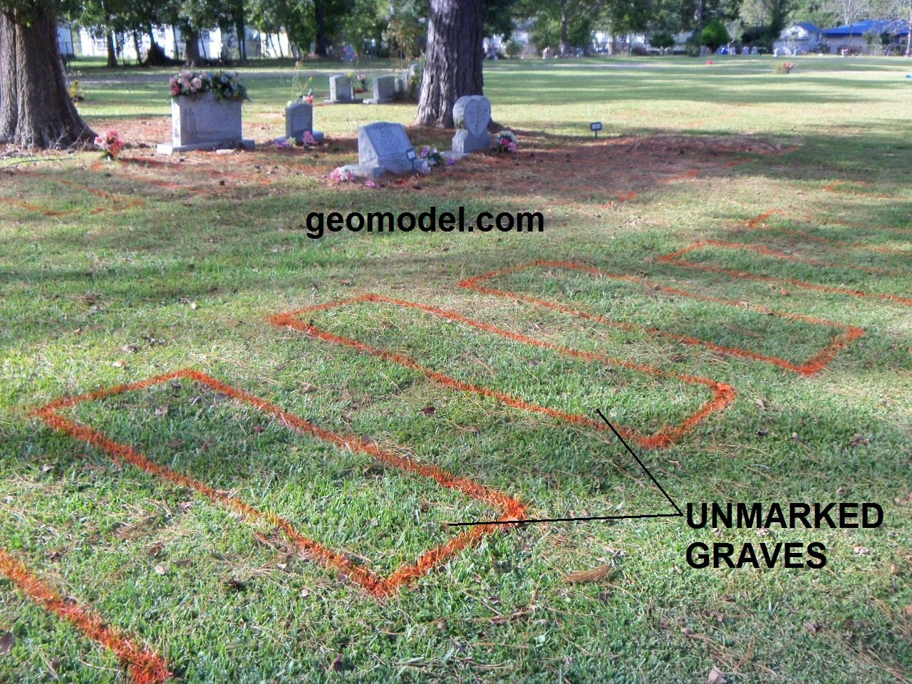 Cemetery_unmarked_graves7 to locate unmarked grave