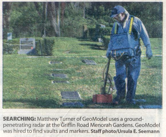 News Cemetery Mapping GPR Expert