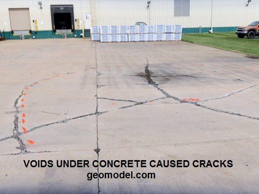 void detection under concrete_sm